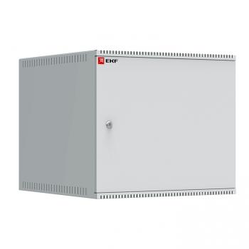 Шкаф телекоммуникационный настенный 9U (600х650) дверь металл, Astra A серия EKF Basic