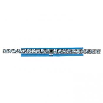"Шина ""0"" N (6x9мм) 20 отв. цинк синий изолятор на DIN-рейку EKF PROxima"