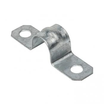 Скоба металлическая двухлапковая d 12-13мм. (100шт.) EKF PROxima