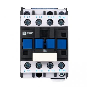 Пускатель электромагнитный серии ПМЛ-1161ДМ 18А 230В EKFBasic