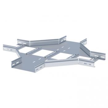 Ответвитель крестообразный лестничный 100х400мм HDZ EKF
