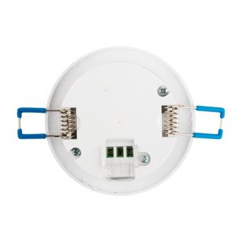 ИК датчик движения с переходным боксом 800Вт 360гр. до 8м IP20 MS-25B EKF