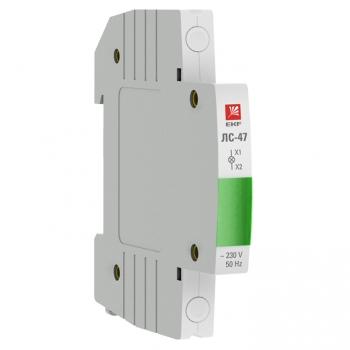 Лампа сигнальная ЛС-47 (зеленая) EKF PROxima