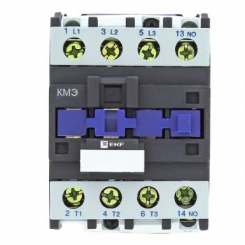 Контактор КМЭ малогабаритный 25А 230В 1NO EKF Basic