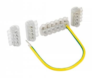 Комплект клеммников SV50 3x KE10.504 + 1x KE10.506 (Al 10-50 / Cu 2,5-35) для сетей уличного освещения EKF PROxima