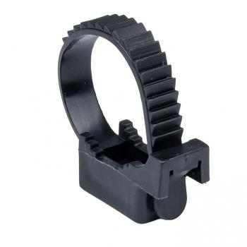 Крепеж ремешковый d=32 мм чёрный (50 шт.) EKF PROxima