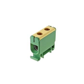 Клемма силовая вводная КСВ 35-150 желто-зеленая EKF PROxima