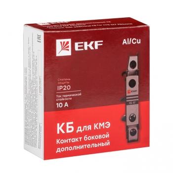 Контакт боковой дополнительный КБ-20 2NO для КМЭ EKF PROxima