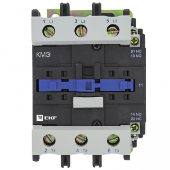 Контактор КМЭ малогабаритный 95А 400В 1NO 1NC EKF Basic