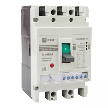 Выключатель автоматический ВА-99М  100/ 63А 3P 50кА с электронным расцепителем EKF PROxima