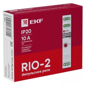 Импульсное реле с задержкой отключения RIO-2 EKF PROxima
