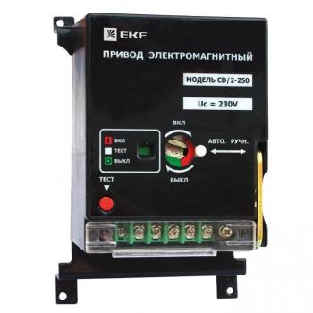 Электропривод к ВА-99С (Compact NS) CD/2-250 3P+N EKF PROxima