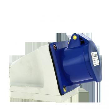 Розетка стационарная наружная 133 2Р+РЕ 63А 220В IP67 EKF PROxima