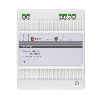 Блок питания 12В DR-45W-12 EKF PROxima