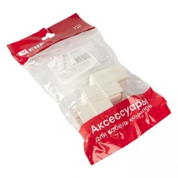 Угол внутренний (25х25) (4 шт) Plast EKF PROxima Белый