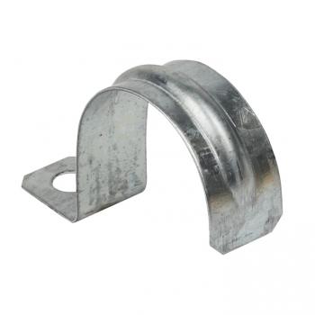 Скоба металлическая однолапковая d38-40мм. (50шт.) EKF PROxima