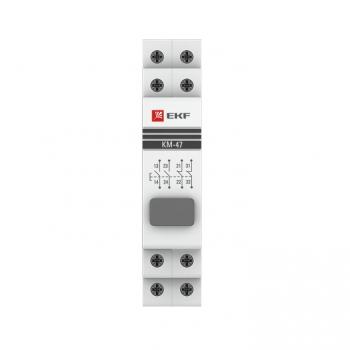 Кнопка модульная КМ-47 (серая) EKF PROxima