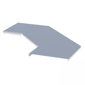 Крышка на угол 90 град. горизонтальный для лестничнго лотка 500мм HDZ EKF