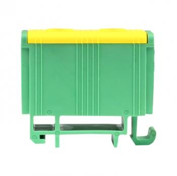 Клемма силовая вводная двойная КСВ 16-50 желто-зеленая EKF PROxima