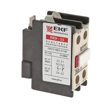 Приставка контактная ПКЭ-02 2NC EKF PROxima