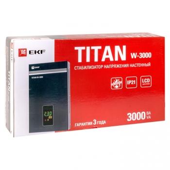 Стабилизатор напряжения настенный TITAN W-3000 EKF PROxima