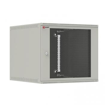 Шкаф телекоммуникационный настенный 9U (600х650) дверь стекло, Astra E серия EKF PROxima