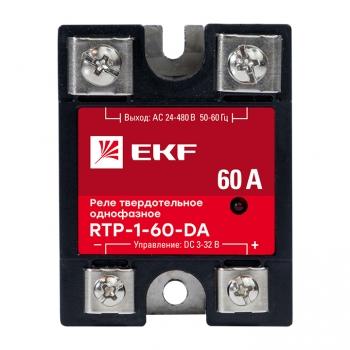 Реле твердотельное однофазное RTP-60-DA EKF PROxima