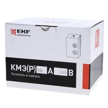 Пускатель в корпусе КМЭ 18А 220В с РТЭ IP65 EKF PROxima