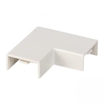 Поворот 90 гр. (20х10) (4 шт) Plast EKF PROxima Белый
