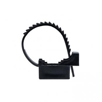 Крепеж ремешковый d=22 мм чёрный (100 шт.) EKF PROxima