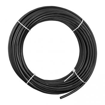Труба гладкая ПНД жесткая d25 мм (100 м) черная EKF