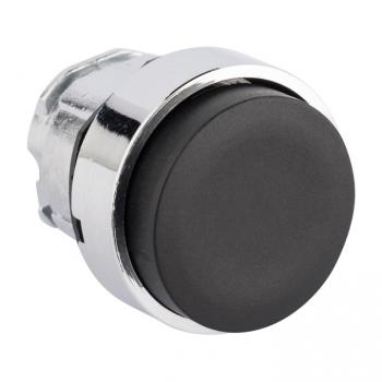 Исполнительный механизм кнопки XB4 черный выпирающая  возвратный без фиксации, без подсветки EKF PROxima