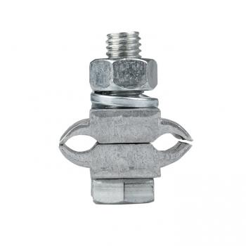 Зажим соединительный плашечный 2 болта М6 (D провода 5,1...9,0 мм) ПА-1-1 EKF PROxima