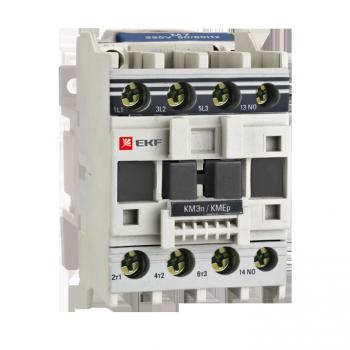 Контактор КМЭп малогабаритный 12А 220В DC 1NC EKF PROxima