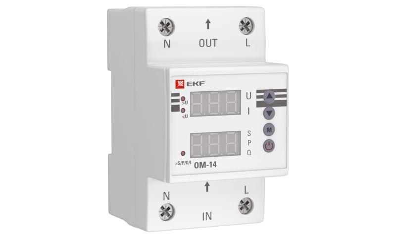 Ограничитель мощности ОМ-14 – надежная защита и удобный контроль