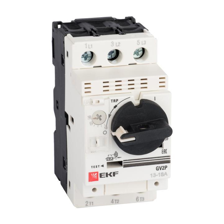 Выключатель автоматический защиты двиг. GV2P 4-6.3А PROxima EKF gv2p10-pro купить в интернет-магазине RS24