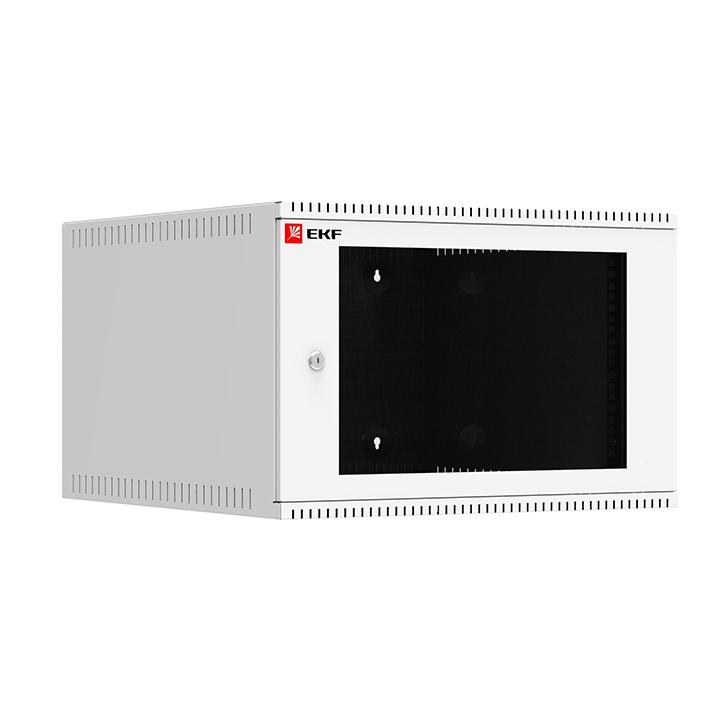 Шкаф телекоммуникационный Astra A ШТН 6U 600х650 настенный дверь стекло Basic EKF ITB6G650 купить в интернет-магазине RS24