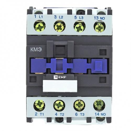 Контактор малогабаритный КМЭ 25А 230В 1NO Basic EKF ctr-s-25-230-basic купить в интернет-магазине RS24